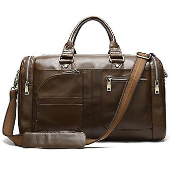 Leather Travel Bag  Business Luggage