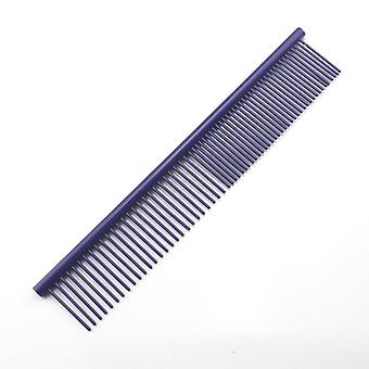 Colorful Piano Paint Professional Anti-corrosion Grooming Comb For Dogs & Cats