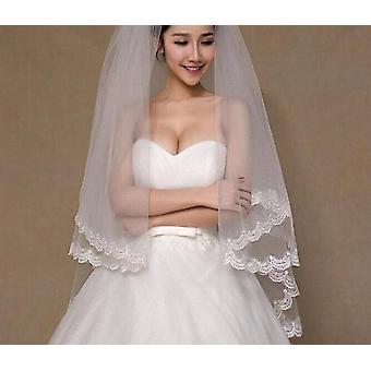 2 Tier Bridal Veil