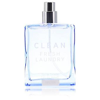 Clean Fresh Laundry Eau De Toilette Spray (Tester) By Clean 2 oz Eau De Toilette Spray