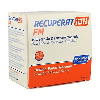 Recuperat-Ion Fm Sugar Free (Orange Flavor) 20 packets