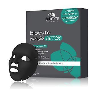 Mask detox charcoal box of 10 10 units