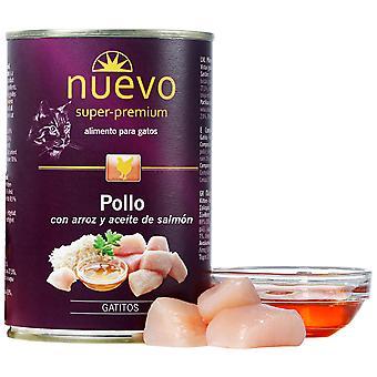 Nuevo Lata Junior Chicken & Rice (Cats , Cat Food , Wet Food)