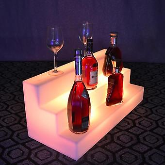 Rechargeable Indoor 16 Color Changing Glowing In Dark Led Wine Holder