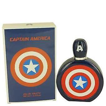 كابتن أمريكا بواسطة مارفل أو دو Toilette رذاذ 3.4 أوقية (رجال) V728-436040