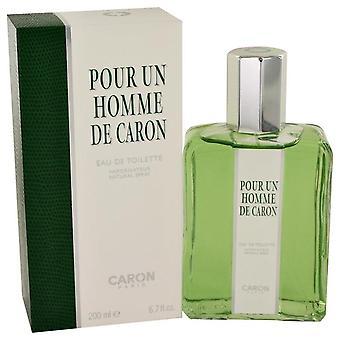 Caron Pour Homme Eau De Toilette Spray por Caron 6.7 oz Eau De Toilette Spray