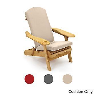Trueshopping Cushion for Adirondack Armchair - Choice of Colours