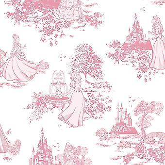 Princess Toile Wallpaper
