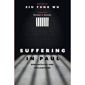Suffering in Paul by Siu Fung Wu - 9781532611773 Book