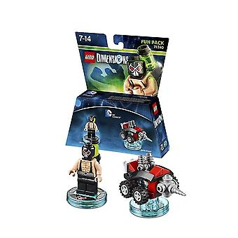 Lego dimensions fun pack dc comics bane and drill driver 71240