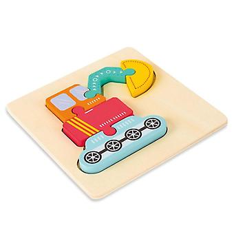 Puzzle en bois 3d Early Educational Intelligence Montessori Puzzle