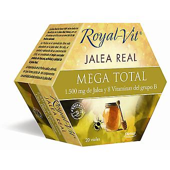 Dietisa Royal Vit Mega Total 1500 mg 20 Fläschchen