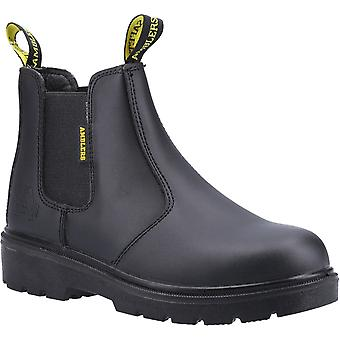 Amblers Safety Mens FS116 Dual Density Pull su Safety Dealer Boot Black