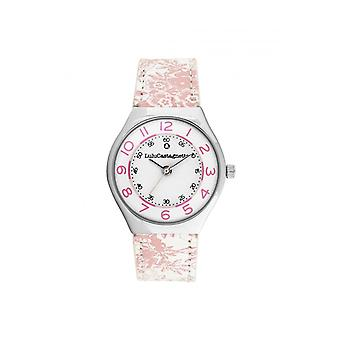 Women's Watch Lulu Castagnette Watches 38940 - White Leather Bracelet