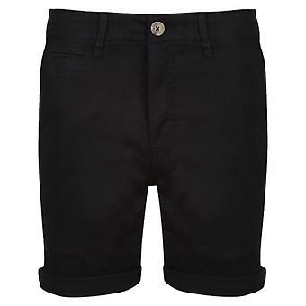 Luke 1977 Corblimey Chino Shorts Black 86