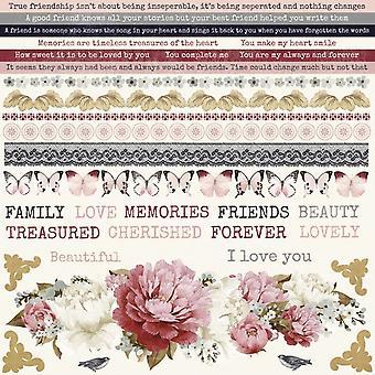 Kaisercraft - Noël - Ma Cherie Sticker Sheet