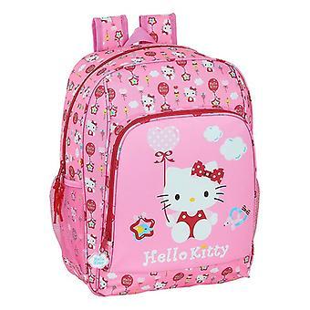 Barnväska Hello Kitty Ballong Rosa