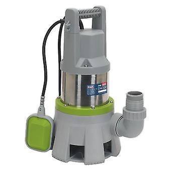 Sealey Wpd415 Hi Flow dompelpompen RVS vuil waterpomp Auto 417L/Min 230V