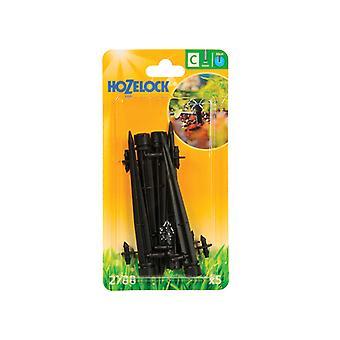 Hozelock Endline Adjustable Mini Sprinkler on Stake 4mm (5 Pack) HOZ2788