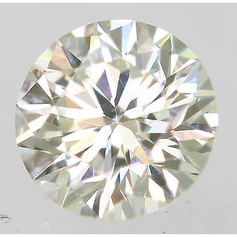 Certificado 0.18 Quilate h cor VVS1 Redondo Brilhante Natural Loose Diamond 3.62mm