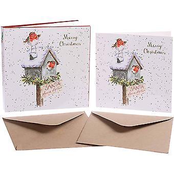Wrendale تصاميم بطاقات عيد الميلاد