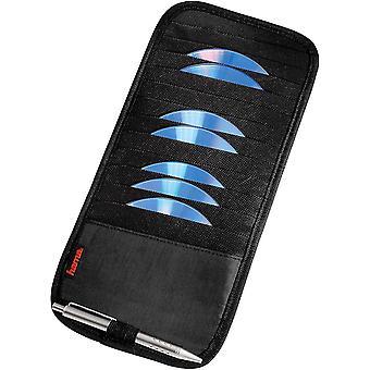 FengChun Sonnenblende Tasche (geeignet fr 12 CDs, Auto CD Aufbewahrung mit Stifthalter) schwarz