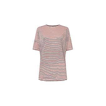 O'NEILL LW Essentials O/S Camiseta de manga corta para mujer, camiseta de manga corta para mujer, 0A7314, multicolor (White AOP Ref. 8719403660712
