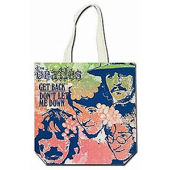 Rock Off The Beatles - Cotton bag with zipper