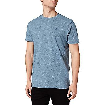 Springfield Camiseta Regular textura T-Shirt, Bottle, M Man