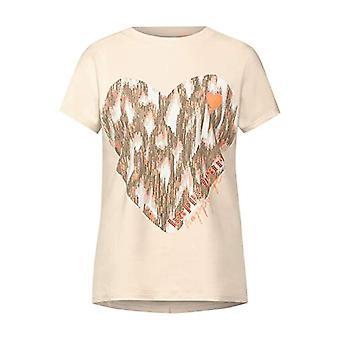 Street One 315957 T-Shirt, Bright Sand, 44 Woman