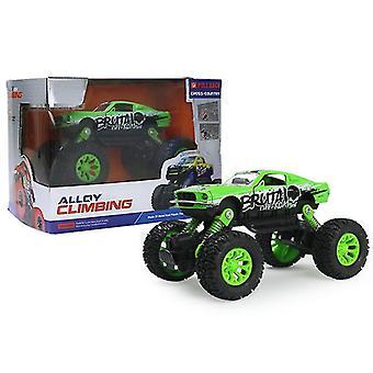 الأخضر ميني سيارة الأطفال على الطرق الوعرة، سيارة الكرتون نموذج لعبة سيارة az15628