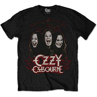 Ozzy Osbourne - Crows & Bars Men's X-Large T-Shirt - Black