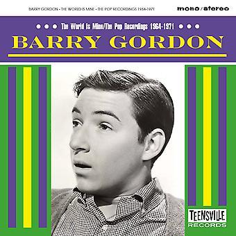 Barry Gordon - Världen är min / Popinspelningarna 1964-1971 CD