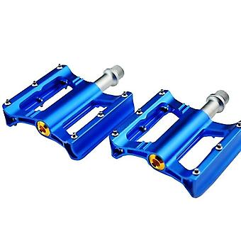 Aluminum alloy bicycle bearing pedals with anti skid peg