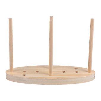 1pc kreative Schleife Maker Holz Kranz Maker Kranz Befestigung Diy Bogen machen Werkzeug