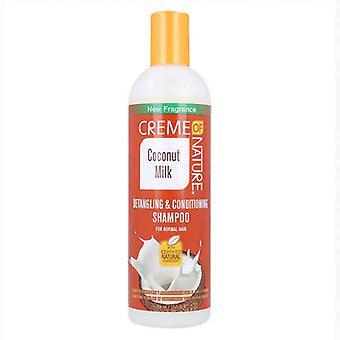 Shampoo and Conditioner Coconut Milk Creme Of Nature (354 ml)