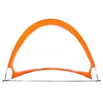 5 kleuren voetbal voetbal doel netto vouwen training doel net kinderen indoor buiten spelen speelgoed (oranje)