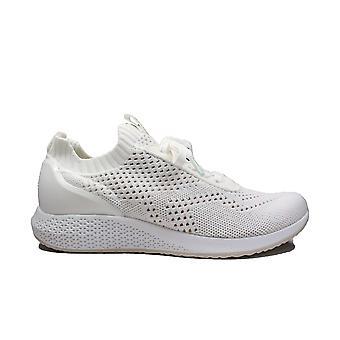 Tamaris 23714 100 White Textile Womens Slip On Trainers