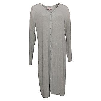 Laurie Felt Women's Fuse Modal Maxi Cardigan Gray A375438