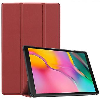 Suitable For Samsung Pad Tab A 10.5 T590/t595 2019 Tablet Protective Case--wine Red