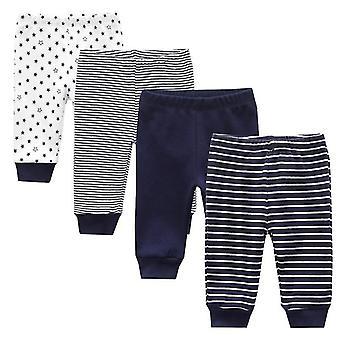 Nouveau-né coton Bébé pantalon solide bébé printemps automne hiver dessin animé