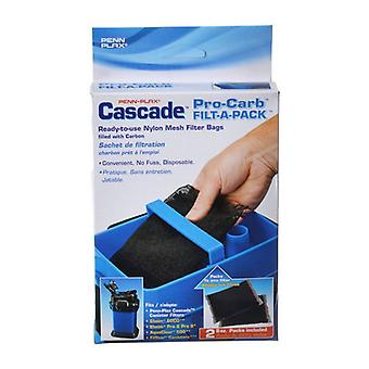 Cascade Canister Filter Pro-Carb Filt-A-Pack - 2 Pack