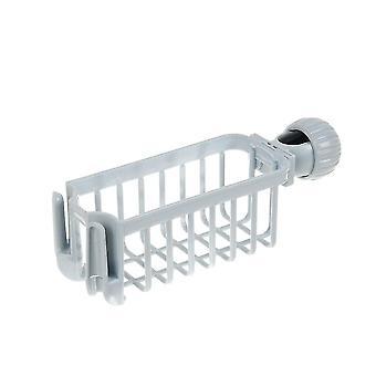 Kitchen sink faucet storage and organisation rack(Grey)