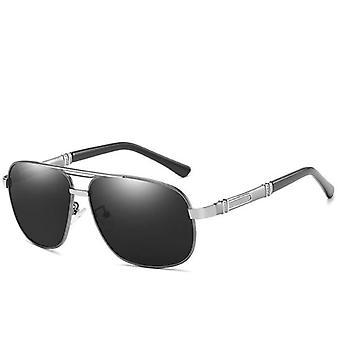 Solglasögon i metallram för män