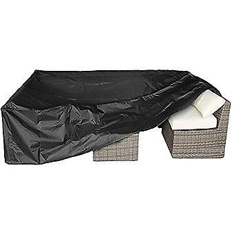 Black Waterproof Garden Furniture Cover