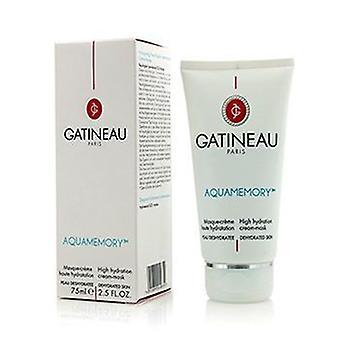 Gatineau Aquamemory hoge hydratatie Cream-Mask-voor de uitgedroogde huid-75ml/2.5 oz
