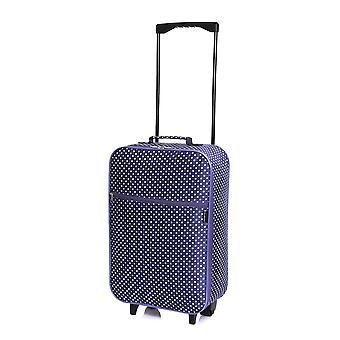 Slimbridge Barcelona cabine goedgekeurd tas, paarse stippen