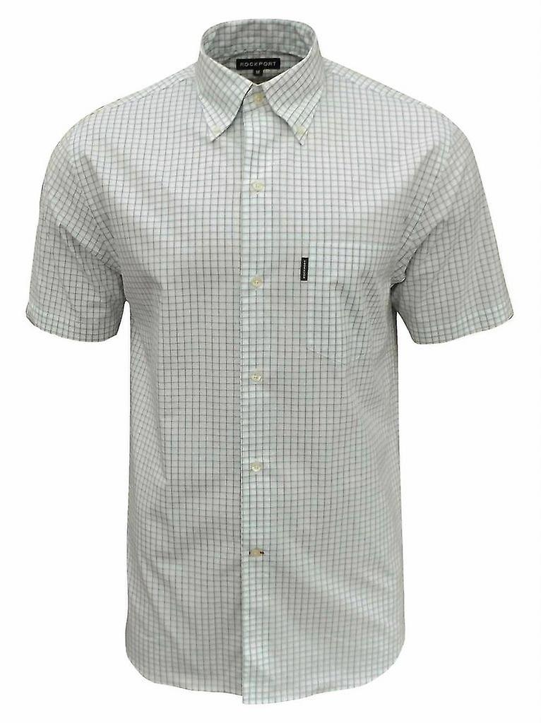 Rockport Men's Summit Check Short Sleeve Shirt