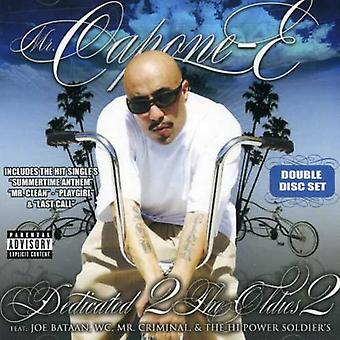 Mr. Capone-E - Dedicated 2 the Oldies Part 2 [CD] USA import