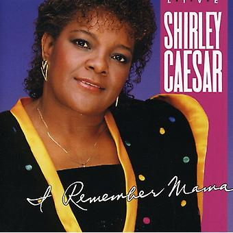 Shirley Caesar - I Remember Mama [CD] USA import